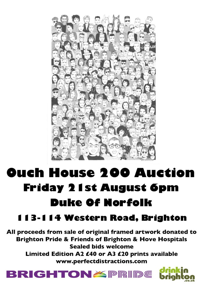 Ouch House 200 fundraising auction this Friday at Duke Of Norfolk
